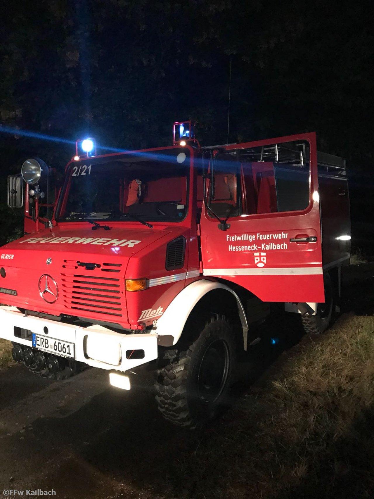 Brandeinsatz vom 07.08.2018  |  (C) Feuerwehr Kailbach (2018)